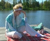 Girl on a pier 4
