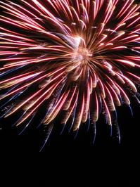 Fireworks over Luna Pier