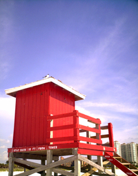 Lifegaurd Tower