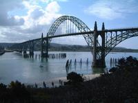newport bridge in oregon