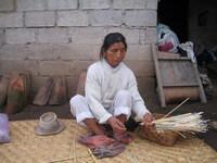 Preparing to processi bamboo