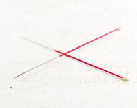 Vintage Metal Knitting Needles