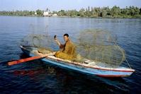 Fisherman on the Nile