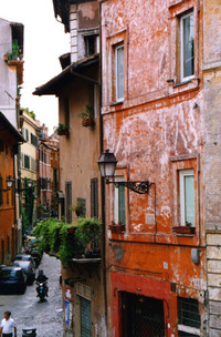 Little street in Florence