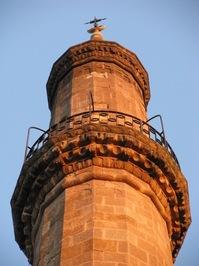 Minaret in Eger, Hungary