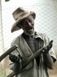 Beggar in Camaguey (Cuba)