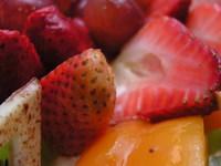 Macro of fruit cake 2