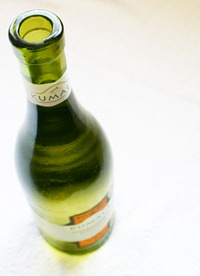 White wine bottle studies 5