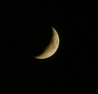Polish beautiful moon