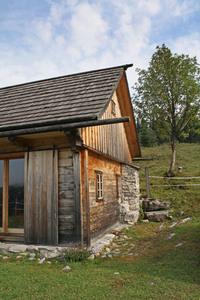 mountain hut - austria