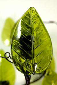 Glass Leaf 2