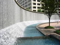 Woodruff Park Waterfall 2