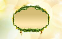 Green leaf border 1