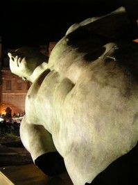 Bronze statue, Roman Forum