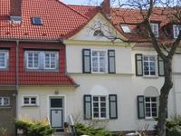 colourful row house