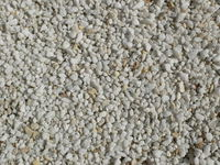 Almost white pebbles