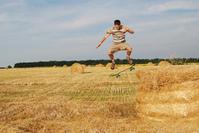 Skate in field