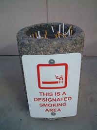 Designated Smoking