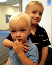 Levi and KJ - brothers