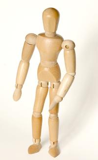 Wood dummy