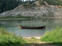 Fort Edmonton Boat