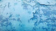 Grunge Texture Blue Wall