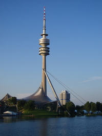 The Olympic Park in Munich