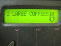 Coffee automat
