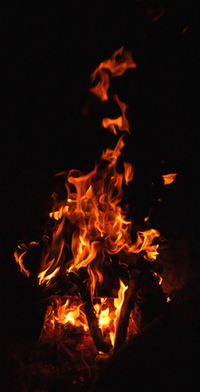Licking Flames 1
