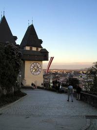 graz uhrturm/clocktower