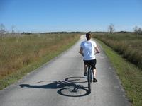 Biking the Everglades