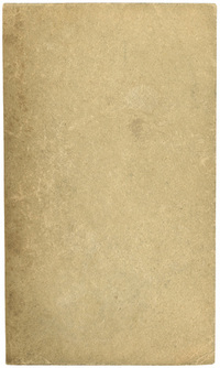 Blank cardboard page, 1966