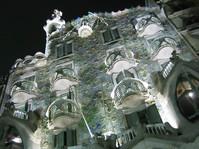 Gaudi at night