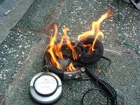 burning headphones 1