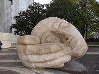 Head Hand Sculpture - Paris