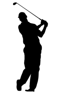 Golf player 5