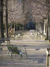 Painting in Jardin du Luxembourg