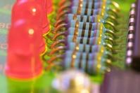 resistors and LEDs