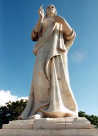 Statue over Havana