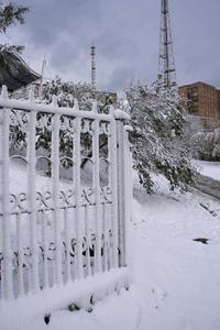 October snowfall 0