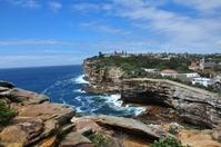 Cliffs at Watson Bay
