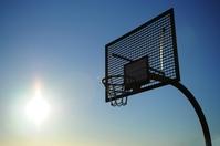 Basket in the sun