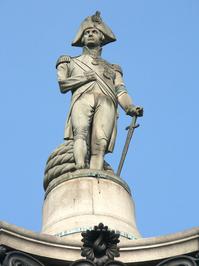 Trafalgar Square Nelson column