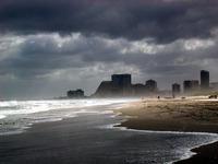 Storm Clouds over Atlantic Cit