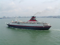 Leaving Port 1