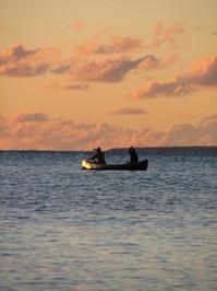 Canoeing between Heaven and Water