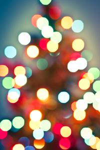 Christmas Lights Bokeh 2