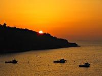 Sunset in Amalfi