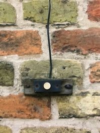 Old bricks and doorbell