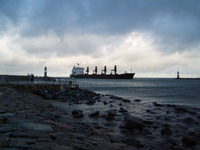 Tanker incoming
